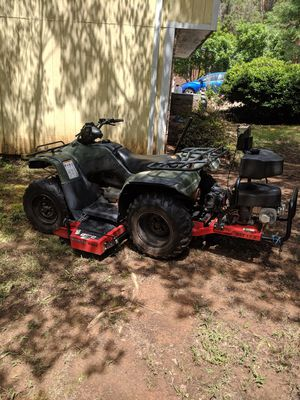 HONDA RANCHER 4X4 350ES WITH MOWER for Sale in Durham, NC