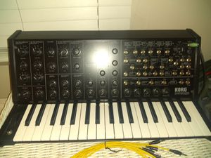 Korg ms20 mini analog synthesizer for Sale in Oceanside, CA