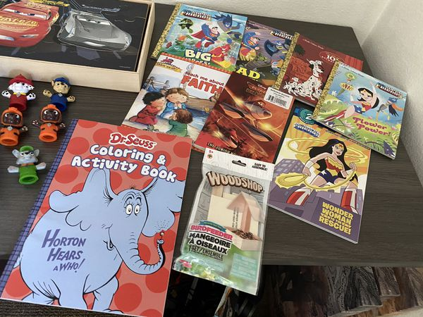 Kids Books, Games, Puzzles, & Finger Puppets!