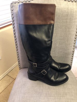 Two Tone Riding Boots - 7 1/2 for Sale in Chandler, AZ
