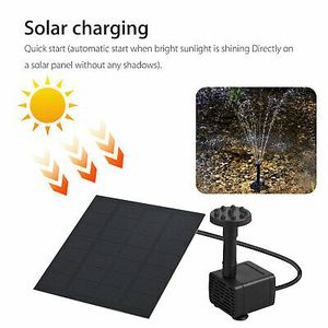 Solar water fountain pump for Sale in Los Angeles, CA