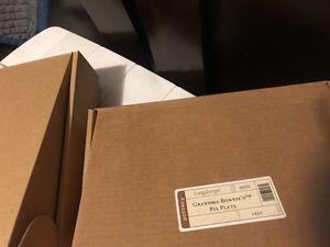 Longaberger - Grandmas Bonnie Pie Plate - NIB for Sale in Meriden, CT
