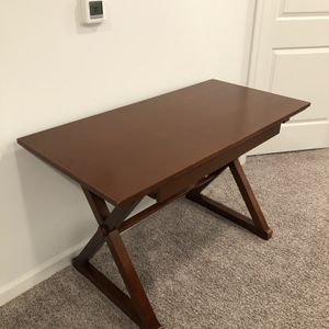 BEAUTIFUL WOODEN WRITING DESK for Sale in Herndon, VA