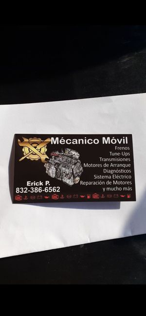 Electromecanico y mecanico en general a domicilio for Sale in Houston, TX