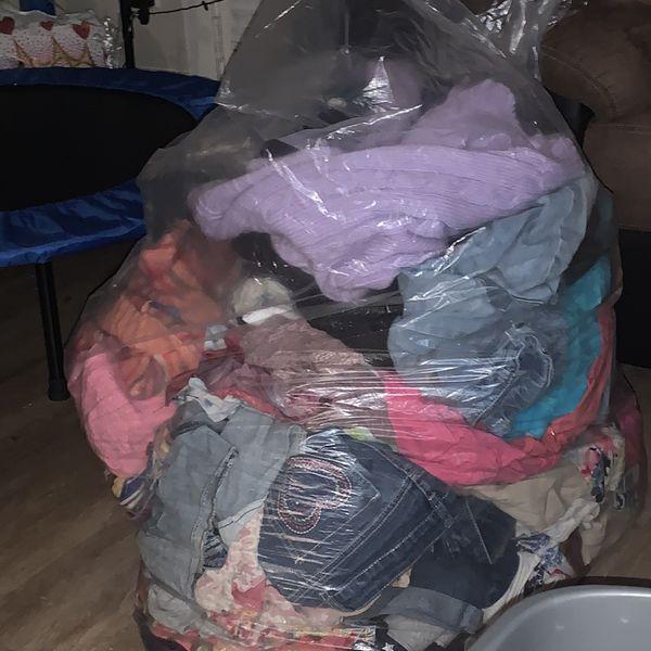 Free Huge Bag Of Girls Clothing