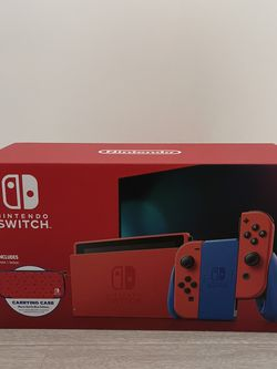 Nintendo Switch, Mario Red & Blue Edition for Sale in South El Monte,  CA