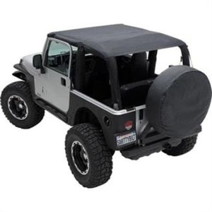 Jeep USED - YJ bikini top, bumperettes, fenders and winch cable for Sale in Hawthorne, CA