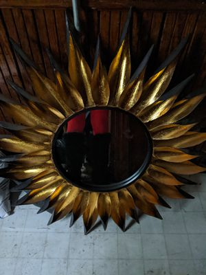 Sunflower Mirror. Around 3ft tall. $45 firm. for Sale in Boston, MA
