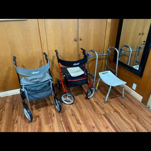 Free To A Good Home Medical Commodes shower Chairs Walkers for Sale in Albany, CA