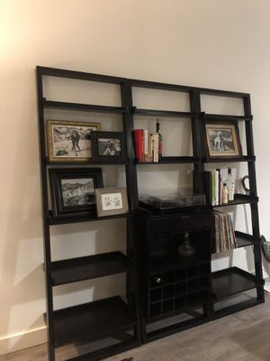 Crate and barrel wine shelving unit for Sale in Portland, OR
