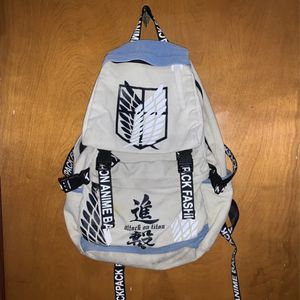 Attack on titan Backpack for Sale in Los Angeles, CA