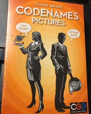 Codenames: Pictures Card Game by Czech Game for Sale in Glenarden, MD