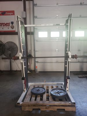 Smith machine w/weights *Flex performance systems for Sale in Crownsville, MD
