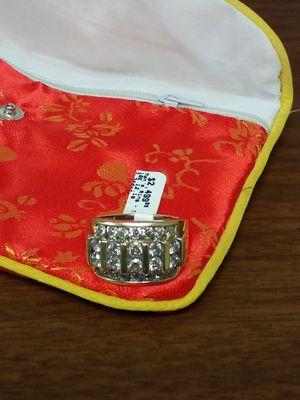 Huge Men's diamond cluster ring for sale for Sale in CORP CHRISTI, TX
