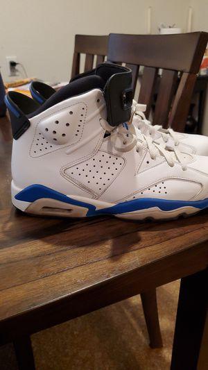Jordan 6 retro sport blue 2014 for Sale in Stockton, CA