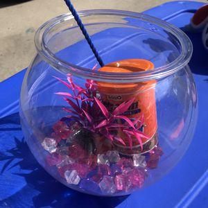 Fish bowl - starter kit. for Sale in La Palma, CA