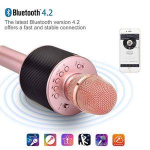 Wireless Karaoke Microphone Speaker With LED lights for Sale in Katy, TX