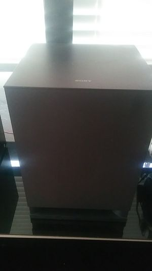 Sony subwoofer SS WSB 102 for Sale in Los Angeles, CA