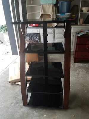 Glass shelf cabinet for Sale in Lathrop, MO