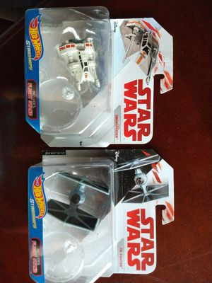 Star Wars collectible toys - Hot Wheels starships for Sale in Lacey, WA
