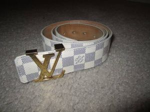 Louis vuitton belt for Sale in Severn, MD