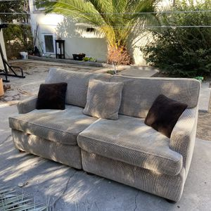 Beautiful custom 2-piece couch with pillows for Sale in Los Angeles, CA
