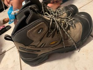 Keen steel toe work boots for Sale in San Diego, CA
