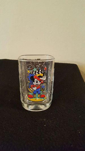 McDonald's Disney Studios Mickey Mouse Commemorative Glass Tumbler for Sale in Des Moines, IA