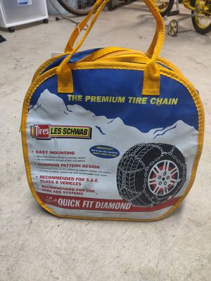 Les Schwab snow chains new never used for Sale in Federal Way, WA