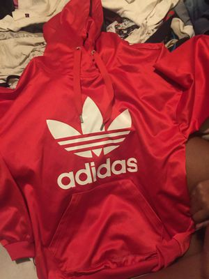 Silky Red Adidas Sweater for Sale in Las Vegas, NV