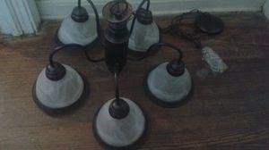 Modern frost chandelier ebony brown for Sale in Atlanta, GA