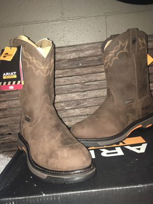 Ariat work boots size 10 for Sale in Morrison, TN