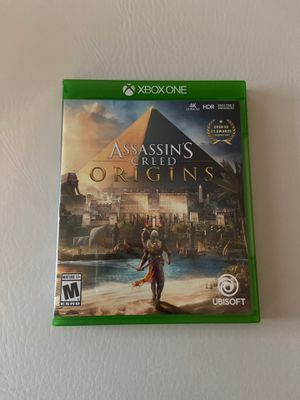 assassins creed origins xbox one video game brand new for Sale in Levittown, PA