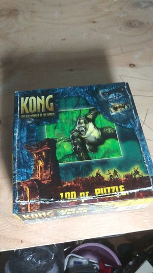 Kong puzzle game for Sale in New Haven, CT