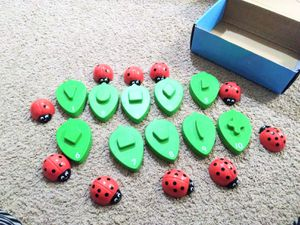 Kids game - ladybug math counting game. Lakeshore brand. for Sale in Austin, TX