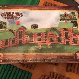 417 Pieces Lincoln Logs/Tumble Tree Timbers for Sale in Oshkosh, WI