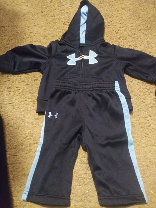 Baby boy Under Armour outfits 3 to 6 months