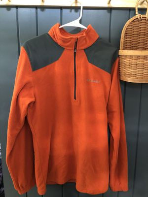 Columbia orange size M pullover for Sale in French Creek, WV