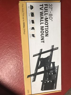 "Full Motion TV Wall Mount- 37""-80"" for Sale in Concord, CA"
