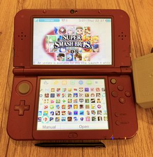 Nintendo new 3DS XL 200+ games 64GB memory card for Sale in Los Angeles, CA