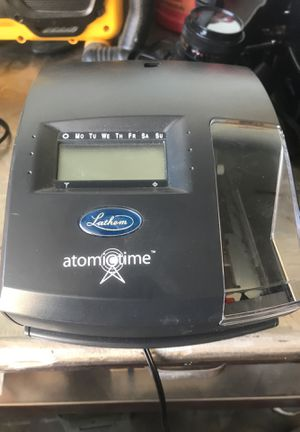 New Lathem Atomictime machine model 1600E for Sale in Phelan, CA