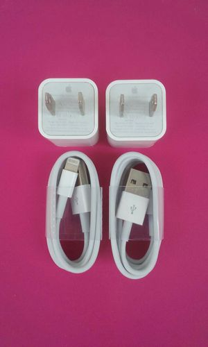 2 Brand New Original Apple IPhone Chargers for Sale in Lincoln Acres, CA