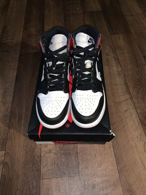Air Jordan retro 1 Black Toe for Sale in Miami, FL