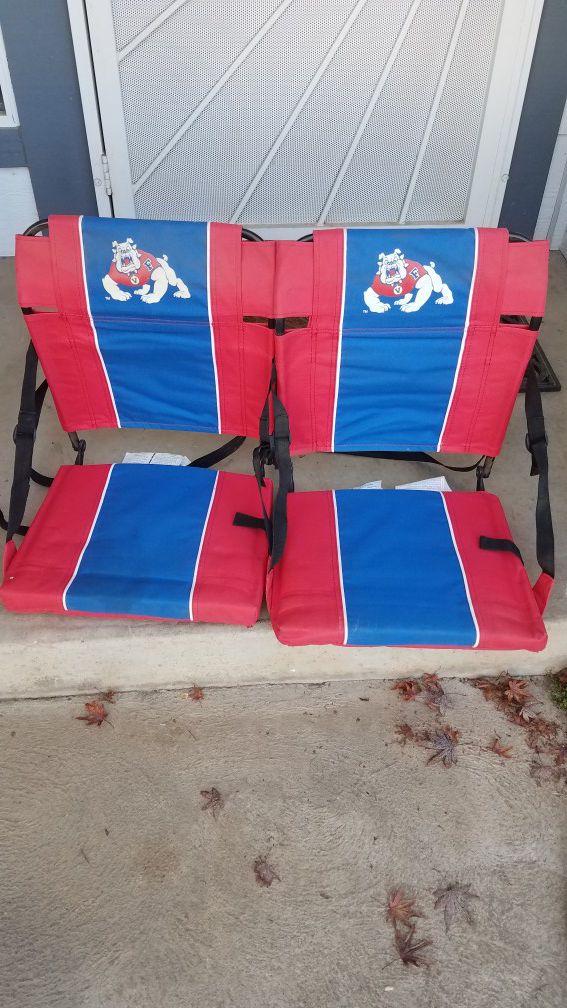 2 Fresno State Bleacher Seats!