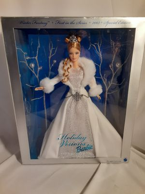 New Holiday Visions Barbie for Sale in Ontario, CA