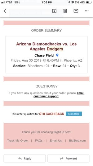 Dbacks ve dodger for Sale in Phoenix, AZ