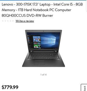 Lenovo laptop for Sale in Kissimmee, FL
