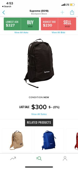 Supreme backpack for Sale in Stony Brook, NY