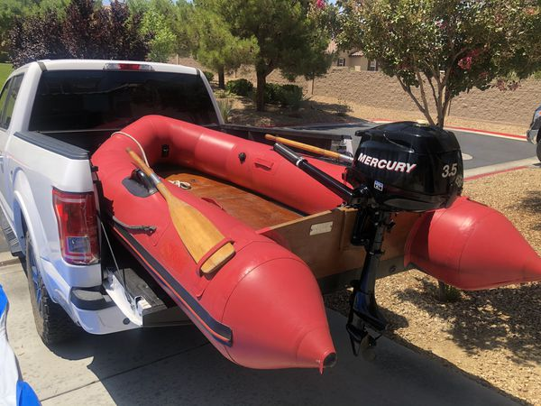 Avon Rover R3-10 Inflatable Boat Only Motor Sold