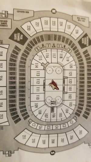 Coyotes tickets for Valentines day for Sale in Fountain Hills, AZ